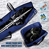 OutdoorMaster Ski Bag and Boot Bag - Travel with