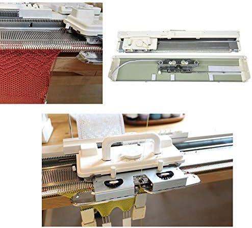 Kit de máquina de Tejer eléctrica, tejedora de Tejer 3 Agujas ...