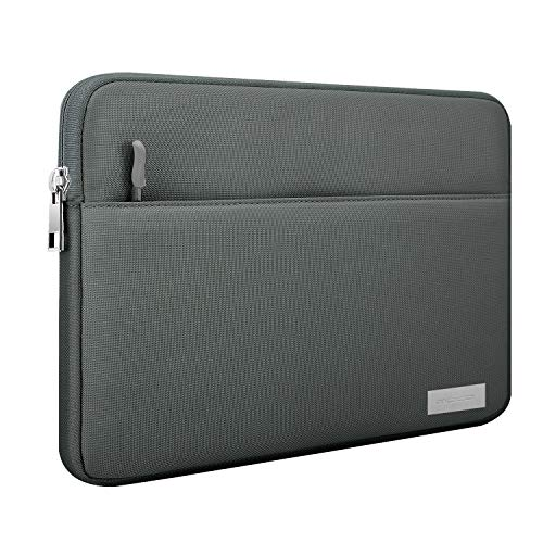 MoKo 9-11 Inch Sleeve Case Bag, Polyester Tablet Cover with Pocket Fits iPad Air 3 10.5