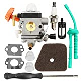 Hippotech C1Q-S174 Carburetor with Spark Plug Adjustment Tool For Stihl FS87 FS90 FS100 FS110 HT100 HT101 HL100 HL90 FC95 FC90 Trimmer