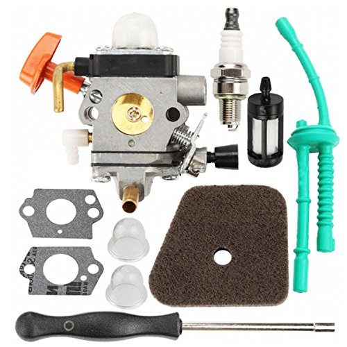Hippotech C1Q-S174 Carburetor with Spark Plug Adjustment Tool For Stihl FS87 FS90 FS100 FS110 HT100 HT101 HL100 HL90 FC95 FC90 Trimmer by Hippotech