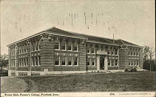 Used, Foster Hall at Parson's College Fairfield, Iowa Original for sale  Delivered anywhere in USA