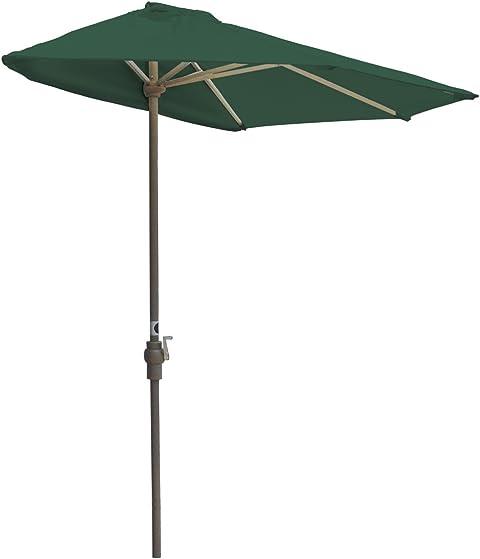 Blue Star Group Off-The-Wall Brella Solarvista Half Umbrella