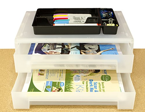 2 Tier Large Office Organizer Document product image