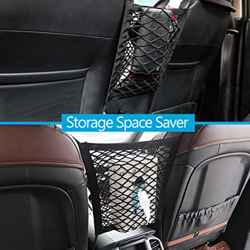 Pack Of 2 Dog Barrier Car Seat Net
