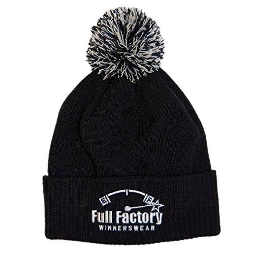 Full Factory Winnerswear - Gorro de punto - para hombre Gris gris oscuro Talla única