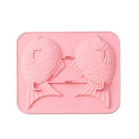 Meiibo - Molde de silicona multifunción para jabón, diseño de pez ...