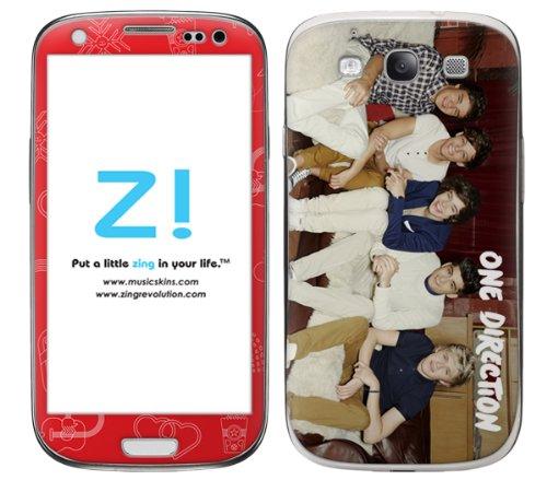 Ncaa Sofa - Zing Revolution One Direction Premium Vinyl Adhesive Skin for Samsung Galaxy S III - Retail Packaging - Sofa Group White