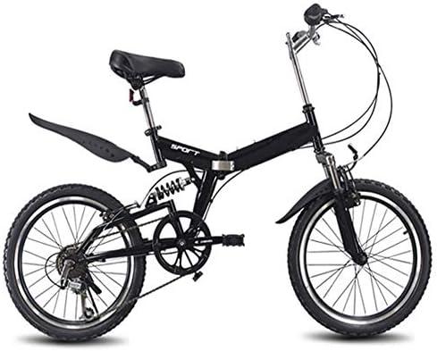 20インチ折りたたみマウンテンバイク6可変速度自転車ロードバイク男性と女性のサイクリング折りたたみ自転車可変速度自転車男性女性自転車