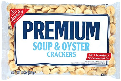 Premium Soup & Oyster Crackers, 9-Ounce Bags (Pack of 12) by PREMIUM