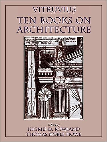 Ten Books on Architecture Vitruvius