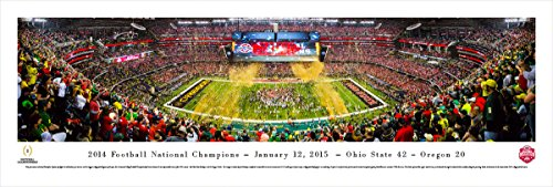 2014 College Football Champions - Ohio State - Blakeway Panoramas Unframed College Sports Posters
