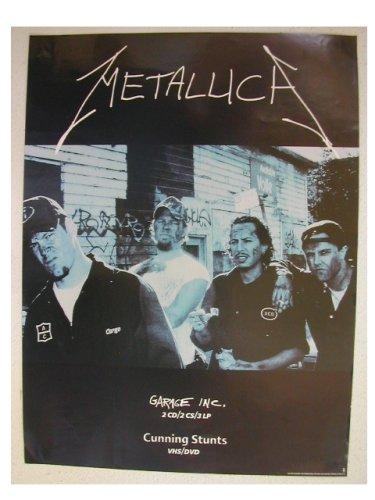 Metallica Poster Band Shot Garbage Inc. Cunning Stunts