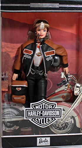 Barbie Harley Davidson Doll Collector Edition # 4 w Back Pack (1999)