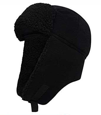 Pro Climate Waterproof Windproof Genuine Sherpa Lined Cable Knit Beanie Hat Pom