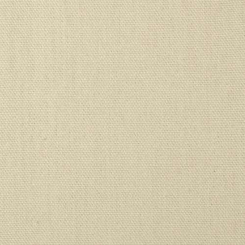 9.3 oz. Canvas Duck Cream Fabric By The Yard (Cotton Upholstery Solid)
