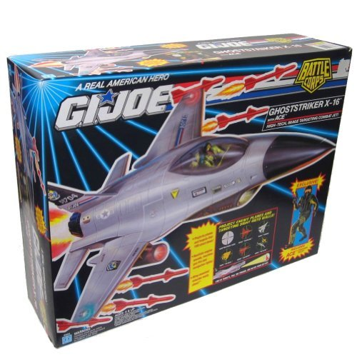 (G.I. Joe A Real American Hero Battle Corps Ghoststriker X-16 Combat Jet with Ace Action Figure)