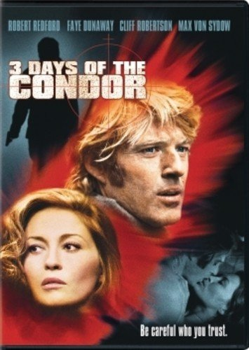DVD : Three Days of the Condor (Widescreen, Dolby, AC-3)