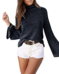 China Palaeowind Female Spring And Summer Sweater Trumpet High - Necked Sweater Cross Halter,Black-L