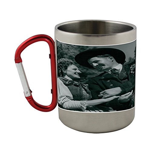 [Stainless steel mug with carabiner handle with National Costume] (Austrian National Costume)