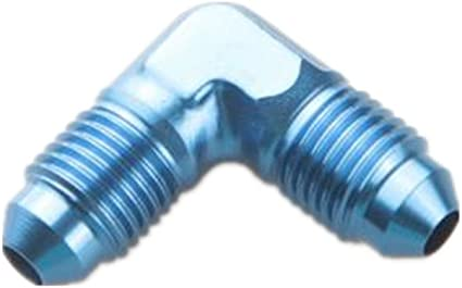 """4AN AN4 Male to Male 3//8/"""" NPT 90 Degree Flare Fitting Adapter"""