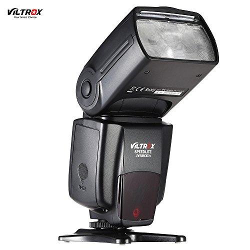 Andoer Viltrox JY680Ch GN58 E-TTL 1/8000s HSS Master Slave Auto-foucs Speedlite Flash for Canon EOS 760D 750D 7D2 5D3 5DR 5DRS 70D 6D 700D 650D 600D 550D Rebel T2i/T3i/T4i/T5i T6i T6s