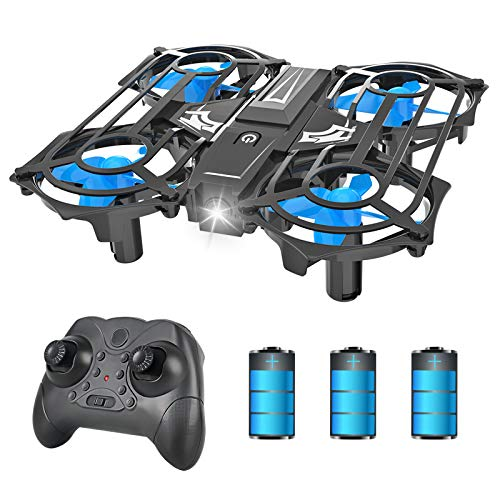 NEHEME NH320 Mini Drones for Kids and Beginners, RC Small Quadcopter Drone with 3 Batteries, 3D Flip, Speed Adjustment…