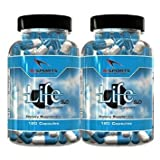 Life Support 2.0 Twin Pack 2 120 Count Bottles Comprehensive Organ Support by Ai Sports Nutrition