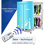 Portable Clothes Dryer Electric Laundry Drying Rack 33 LB Capacity Best Energy Saving Folding Dryer Quick Dry...