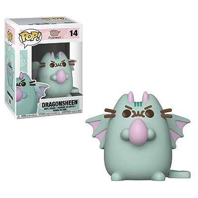 Funko Pop Animation: Pusheen - Dragonsheen Collectible Figure, Multicolor: Toys & Games