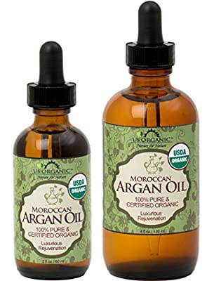 Argan Oil ? USDA Certified Organic ? Brand New ! ? The Highest Quality Guaranteed ?100% Pure & Natural ? Cold Pressed Virgin ? Unrefined Moroccan Argan Oil ? Rich in essential fatty acids, Vitamin E & antioxidant ? Quick absorption rate ? Ideal for dry, d