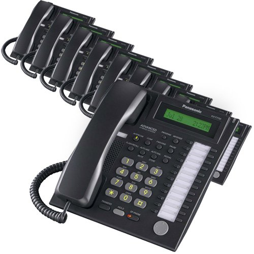 Panasonic Telephone Kx Corded T7736 (Panasonic KX-T7736 Corded Telephone Black (10 Pack))