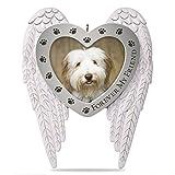 Hallmark Forever My Friend Pet Memorial Metal Photo Ornament Pets