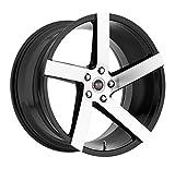 3 pieces 22 in rims - SPEC-1 Monotec SPM-80 Gloss Black Machined Wheels (22x9