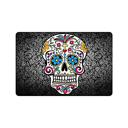 sugar skull door mat - 1
