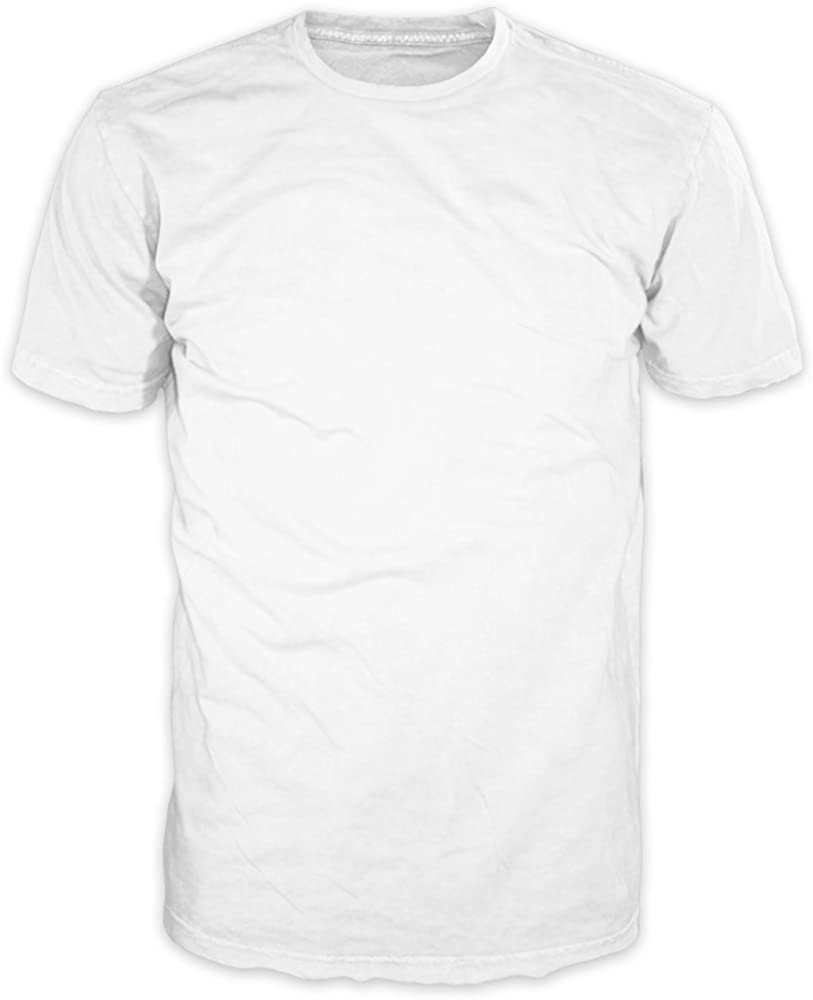 FSD Basic Plain Crew Neck Short Sleeve T-Shirts for Men (Value Pack of 4 Regular -3XL, Big and Tall)