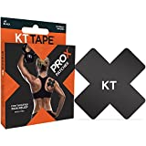 KT Tape 857879003140 ProX Therapeutic Body Tape Box (15 Patches), Jet Black