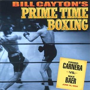 Primo Carnera vs. Max Baer Radio/TV Program