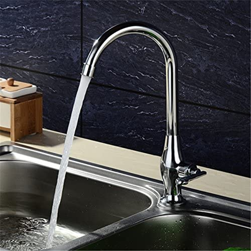 Kitchen Sink Faucet LYTOR / Contemporary Copper Alloy For Cold Water Kitchen Sink Mixer Tap Sink Mixer Sink Faucet Whole Kitchen Sink Tap Commercial