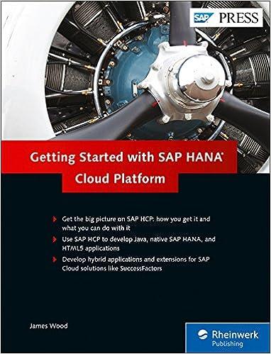 Getting Started with SAP HANA Cloud Platform