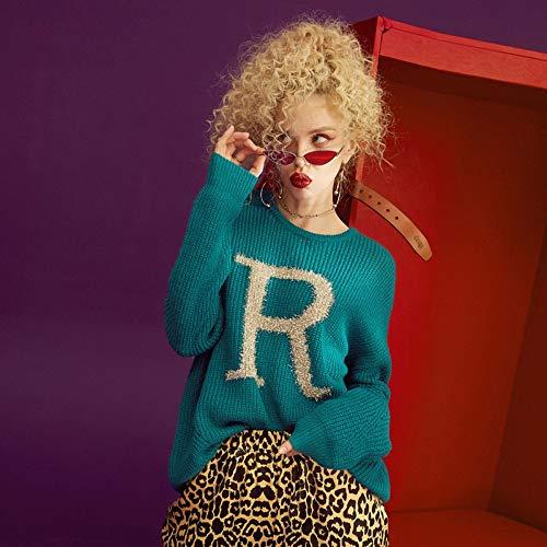 collo Pullover Femme M Oversize Maglioni O Donna Tfdgh Donna Maglione xpRa0wqAg