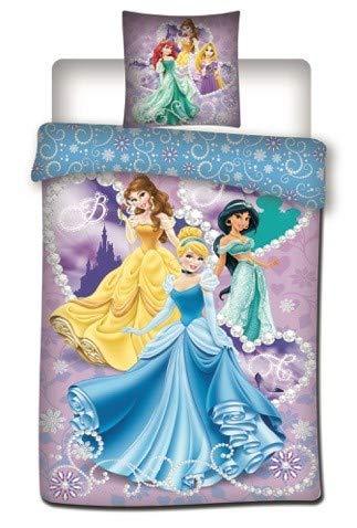 Disney Frozen Princess Duvet Cover 140 x 200 cm + 1 Pillowcase 100% Microfibre