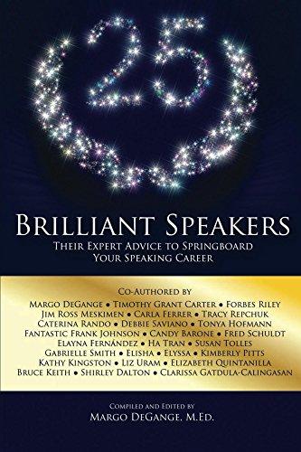 25 Brilliant Speakers: Their Expert Advice to Springboard Your Speaking - Brilliant Margo