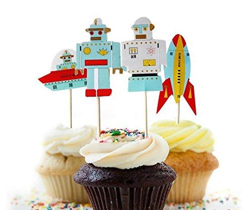robot cake - 5