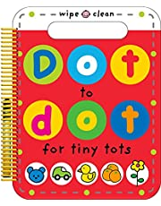 Dot to Dot for Tiny Tots Wipe Clean Activity Book