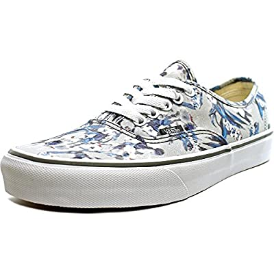 Vans Authentic Sneaker,Pewter Blurred Floral/True White,US 9.5 M