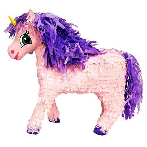 19'' Pink Unicorn Pinata - Décor and Game