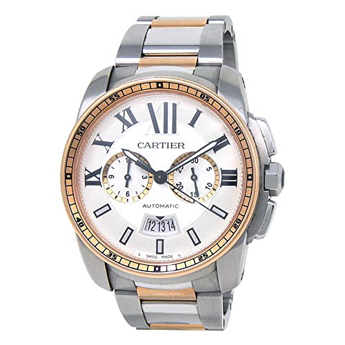 Cartier Calibre de Cartier Automatic-self-Wind Male Watch W7100042 (Certified Pre-Owned)