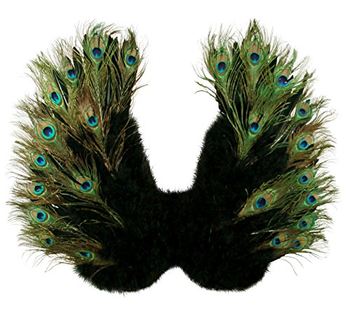 FashionWings(TM Peacock Feather Costume Angel Wings Adults Unisex]()
