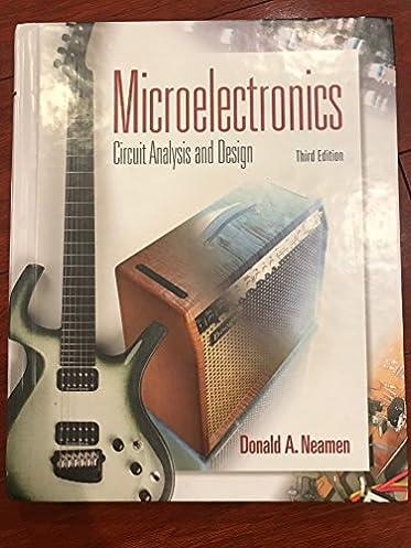 microelectronic circuit analysis and design (electrical \u0026 computer